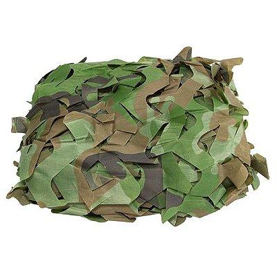 Rede De Camuflagem Forest 2X3M Camuflado