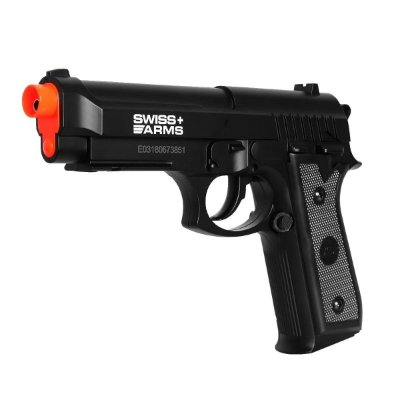 Pistola Airgun - SWISS ARMS PT92 CO FIBRA