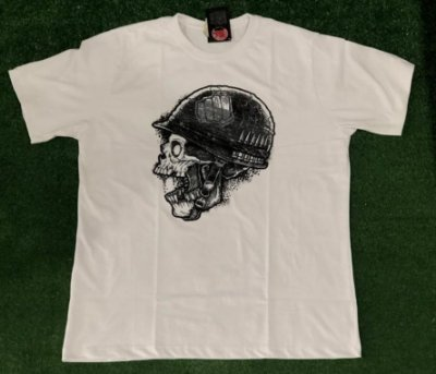 Camiseta Caveira Helmet