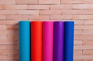 Tapete de Yoga  - Vida Simples (100% PVC - 1,72mt x 62cm x 3mm)