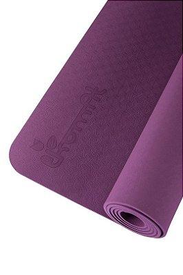 Tapete de Yoga - Meu Mundo (100% TPE - 1,82mt x 62cm x 5mm)