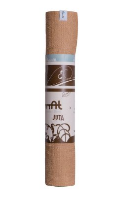 Tapete de Yoga (Juta Natural + PER - 1,82mt x 62cm x 3mm)