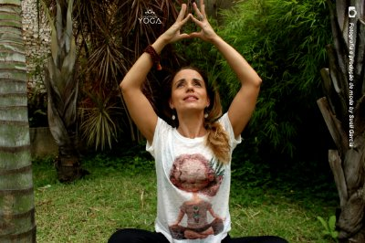 Camiseta Yoga - Meditação Infantil