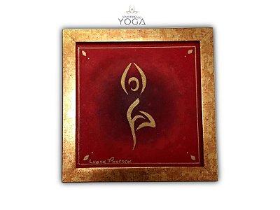 Quadro para decoração Yoga Vrksasana