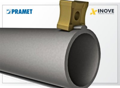 Inserto SNMX 15-Rxx:T9335 p/ raspagem de tubos: Scarfing