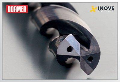 Broca Metal Duro R453 force-X 5XD com refrigeração interna Dormer