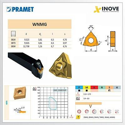 Suporte Torneamento Externo MWLNR para Inserto WNMG 08
