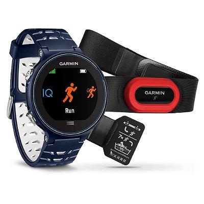Relógio Gps Monitor Cardíaco Garmin Forerunner 630 Bundle Azul 010-03717-31