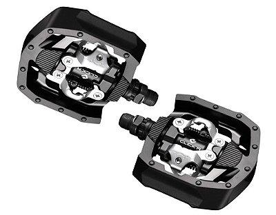 Pedal Mtb Shimano Pd Mt50 Click Tacos Inclusos C/plataforma