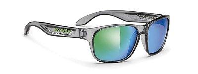 Óculos De Sol Rudy Project Sensor Cristal Verde Espelhado