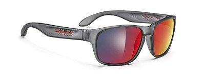 Óculos De Sol Rudy Project Sensor Frozen Espelhado Vermelho
