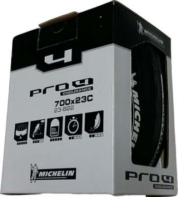 Pneu Michelin Pro4 Endurance 700x23 Road - Preto