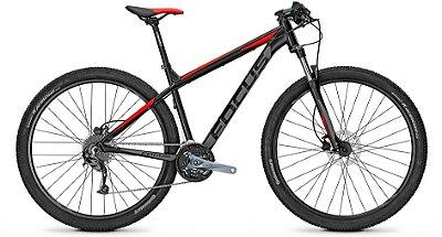 Bicicleta Mtb Focus Whistler Evo 29 Preto/Vermelho 27v Tamanho S