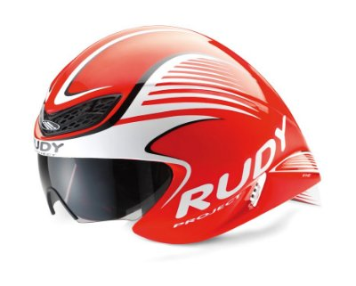 Capacete Rudy Project Wing57 Vermelho Fluorescente