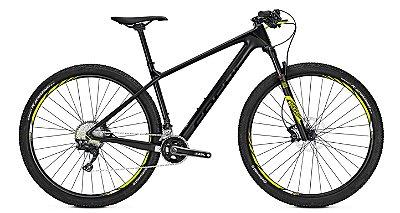 Bicicleta Mtb Focus Raven Elite 29 22v Preta 2017 Tamanho M