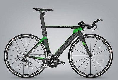 Bicicleta Focus Izalco Chrono Max 3.0 Triathlon Time Trial Tamanho L