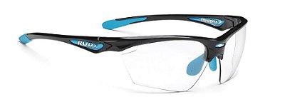 Óculos Rudy Project Stratofly Lentes Fotocromática Preto Azul