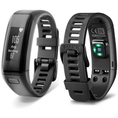 Garmin Vívosmart Hr Regular Preto 010-01955-00
