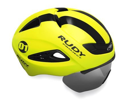 Capacete Rudy Project Boost 01 Amarelo Fluor