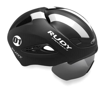 Capacete Rudy Project Boost 01 Preto Branco Fosco