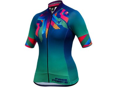 Camisa Ciclismo Feminina Free Force Fantasy