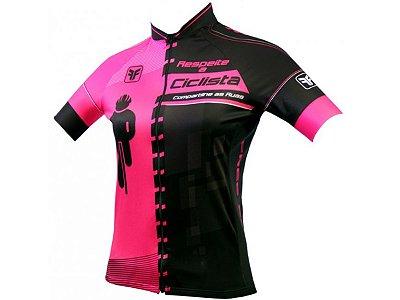Camisa Ciclismo Free Force Transit Feminina