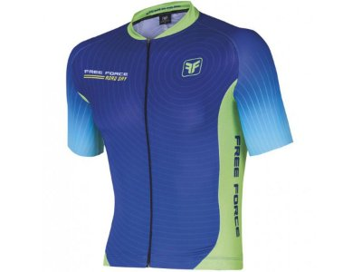 Camisa Ciclismo Free Force Road Day Azul