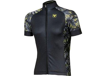 Camisa Ciclismo Free Force Tropic Preta