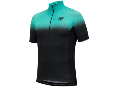 Camisa Ciclismo Free Force Team Two Preto Azul