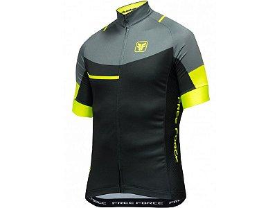 Camisa Ciclismo Free Force Lord Preta