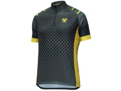 Camisa Ciclismo Free Force Basic Scale Preta
