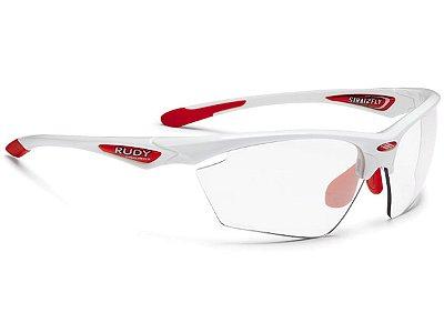 Óculos Rudy Project Stratofly Branco Lente Fotocromática