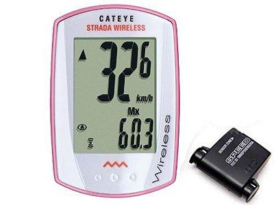 Velocímetro Cateye Strada Wireless Cc-rd300w Ciclocomputador