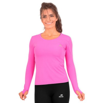 Camisa Running Performance G1 UV Protection UV-A e UV-B 50+ Feminino - Muvin