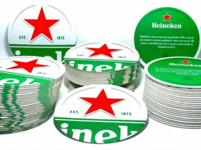 Bolacha De Chopp Heineken