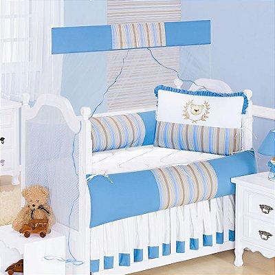 Kit de Berço Realeza Azul