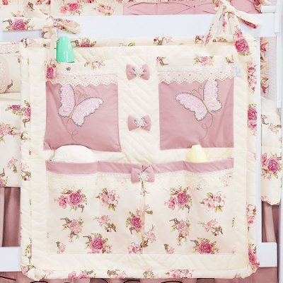 Porta Objetos Fleur Rosê