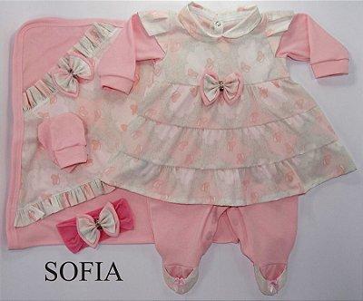 Saída Maternidade Sophia Rosa