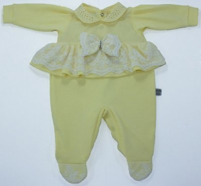 Macacão Valentina Amarelo