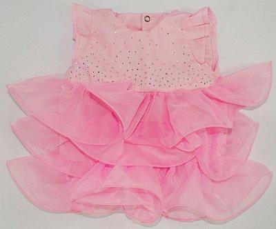 Vestido Chic Rosa