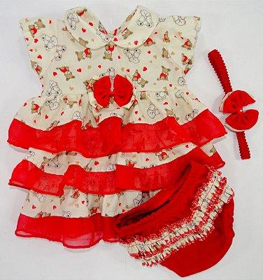 Vestido Charmosa Vermelho