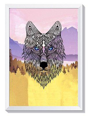 Quadro - Lobo da Floresta