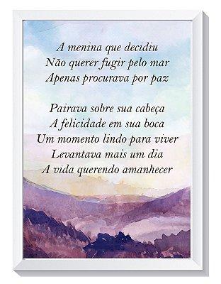 Quadro Poético - Ana Paula
