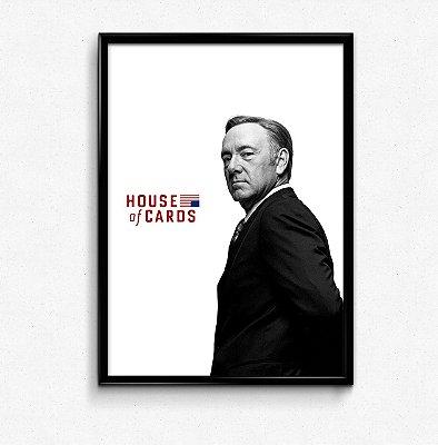 Quadro - Frank Underwood (House Of Cards)