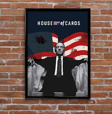 Quadro -  Frank (House Of Cards)