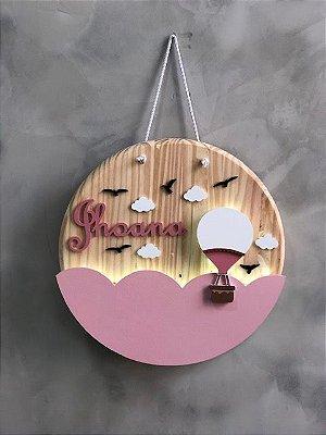 Balão luminoso mandala porta maternidade