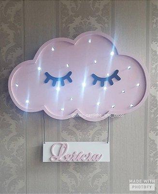 Cílios nuvem luminoso
