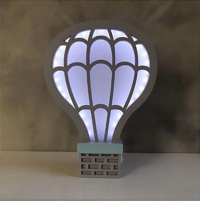 Luminária Balão cômoda ou parede