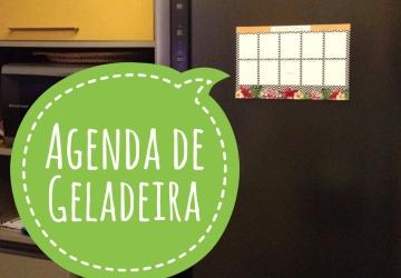 BANNER AGENDA DE GELADEIRA