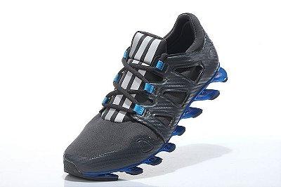Tênis Adidas Springblade Pro - Masculino - Cinza/Azul
